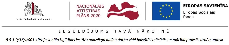 Logo ar projekta nosaukumu